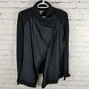 LUCKY BRAND | knit long sleeve one-button cardigan